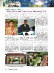 Kelas Binaan dan Radio Cahaya Madtsanegta FM - Kemenag Jatim