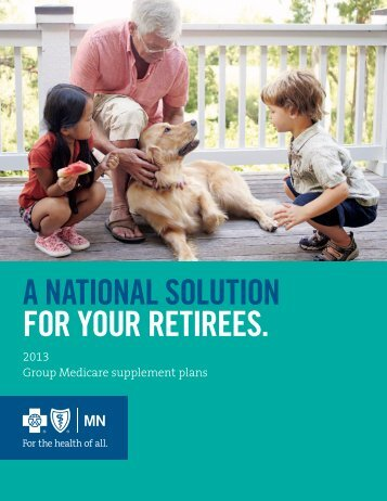 2013 Group Medicare Supplement employer brochure (PDF)