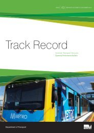 Track Record 49, October to December 2011 - Public Transport ...
