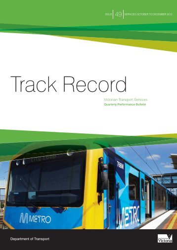 Track Record 49, October to December 2011 - Public Transport ...