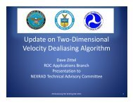 Update on Two-Dimensional Velocity Dealiasing Algorithm