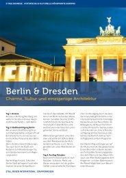 Berlin & Dresden - Stoll Reisen International