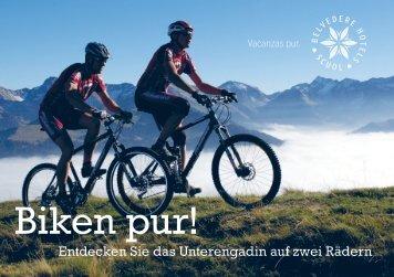 Biken pur! - Hotel Belvédère Scuol
