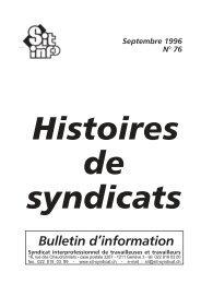 Bulletin d'information - Syndicat interprofessionnel de travailleuses ...