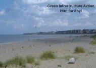 Rhyl Green Infrastructure Action Plan - Mersey Dee Alliance