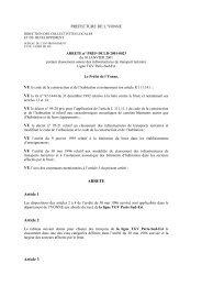 Arrêté Ligne Grande Vitesse - 0,09 Mb - Yonne