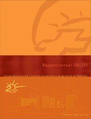 Rapport d'activités 2001-2002 (PDF) - CRIUGM