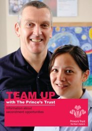 Secondee Opportunities - The Prince's Trust