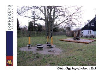 Offentlige legepladser - 2011 - Bornholms Regionskommune