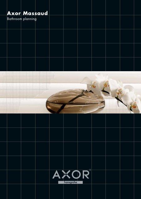 Axor Massaud bathroom planning brochure - Hansgrohe