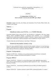 Zápis z 5. zasedání dne 6.8. 2007 - vúgtk