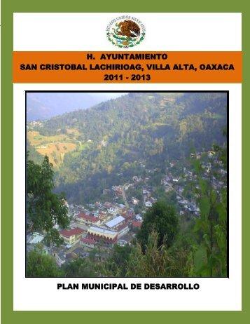 h. ayuntamiento de san cristobal lachirioag. - Secretaria de Finanzas