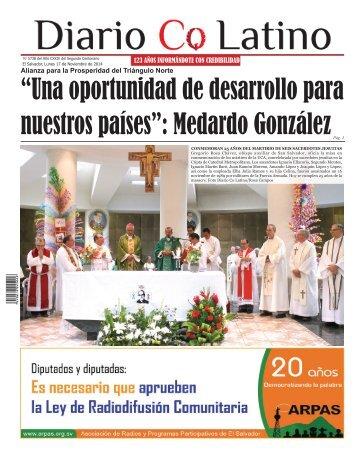 Edición 17 de Noviembre de 2014