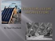 Counter Culture Architecture