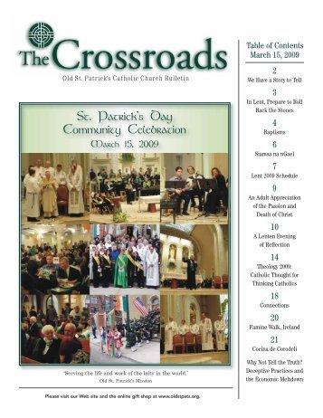 St. Patrick's Day Community Celebration - Old St. Patrick's Church