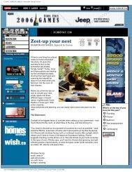 CANOE : HOME & GARDEN - Renovation Zest-up ... - Cocoa Media