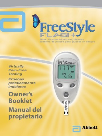 Owner's Booklet Manual del propietario - HealthWarehouse.com