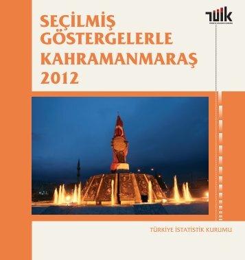 KAHRAMANMARAŞ - Türkiye İstatistik Kurumu