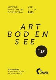 juli 12 – 14 2013 sommer kunstmesse dornbirn/a - Art Bodensee