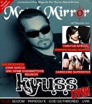 METAL MIRROR #48 - Kyuss, Tinnitus, Sodom, Hellyeah, Hardcore ...