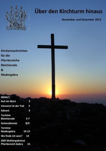 Über den Kirchturm hinaus