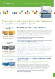Remises spéciales sur les mises à niveau pour les clients ... - VMware