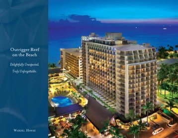 Outrigger Reef on the Beach - Outrigger Hotels and Resorts
