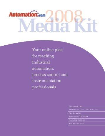 Media Kit - Automation.com