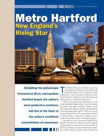 Metro Hartford Metro Hartford - Forbes Special Sections
