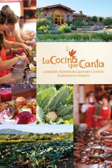 la cocina que canta - Rancho La Puerta