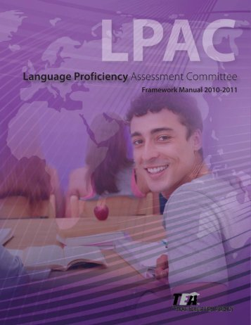 LPAC Framework Manual - Region 17