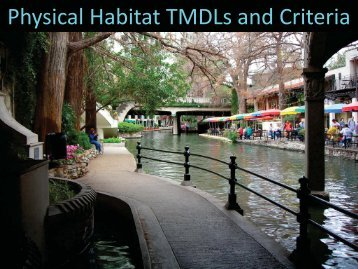 Physical Habitat TMDLs and Criteria