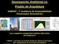 Desempenho Ambiental no Projeto de Arquitetura - Sabesp