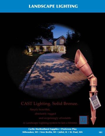 LANDSCAPE LIGHTING - Carlin Sales Corporation