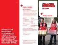 General Brochure - Canadian Red Cross