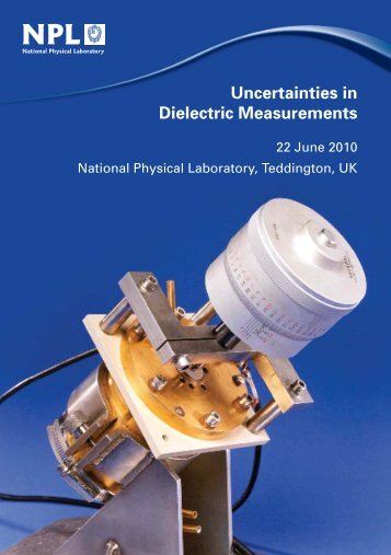 Uncertainties in Dielectric Measurements - National Physical ...