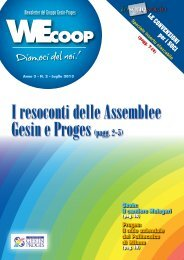 Wecoop Luglio 2013 - Pro.Ges.