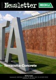 Terracotta-Concrete - RECKLI GmbH: Home