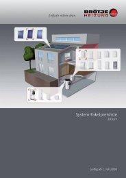 Broetje System-Paket-Preisliste und Rabatliste - Heizungs-Discount