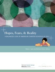 Hopes, Fears, & Reality - ERIC - U.S. Department of Education