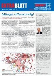 EXTRABLATT - bei der Initiative Zukunft Rhein-Main!