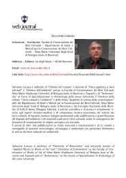 Salvatore LORUSSO - web journal