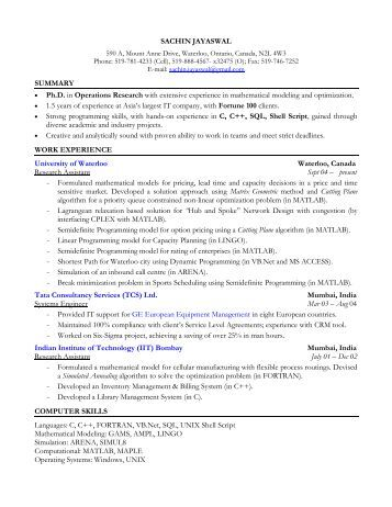 Co op Job Search ENG  EE  Refresher Session  Job Search Methods Search for  APPLICATION