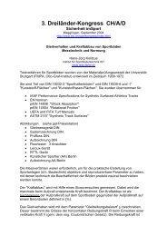 3. Dreiländer-Kongress CH/A/D - ISSS