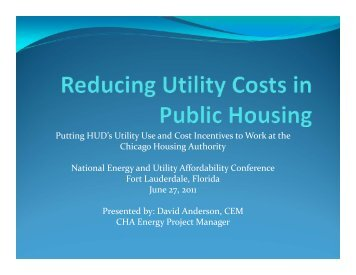 Anderson, David - National Energy and Utility Affordability Conference
