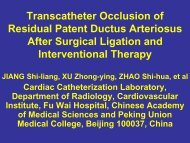 Transcatheter Occlusion of Residual Patent Ductus Arteriosus After ...