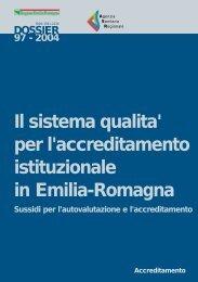 Dossier - Agenzia sanitaria regionale Emilia-Romagna - Regione ...