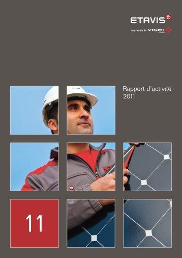 Rapport d'activité 2011 - Etavis