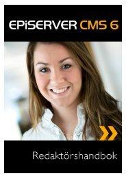 Redaktörshandboken för EPiServer CMS 6.0 Rev C - EPiServer World