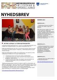 fællesskab og forskellighed – Sommer 2013 - Fredensborg Kommune